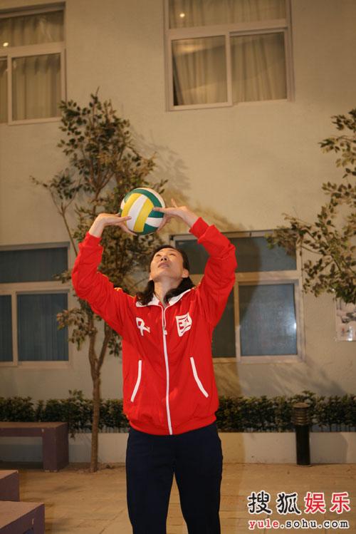 《奥运在我家》迎来前女排李国君崔咏梅—07