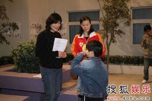《奥运在我家》迎来前女排李国君崔咏梅—08