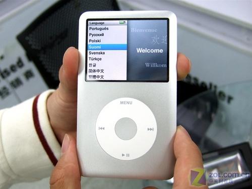苹果iPod classic热卖升级 礼品相送