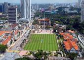 图文:吉隆坡传递线路解读 吉隆坡独立广场鸟瞰