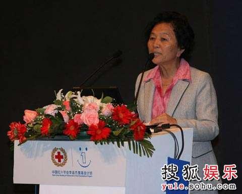中国红十字会副会长江一曼