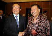 图文:中国驻马大使宴请运行团队 和奥委会主席
