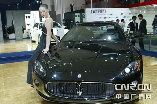 玛莎拉蒂granturismo s   继3月日内瓦车展全球首发之后,玛高清图片
