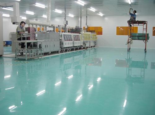 工程实例(1)——耐强酸碱乙烯基酯地坪