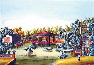 富商们在西关兴建的花园别墅