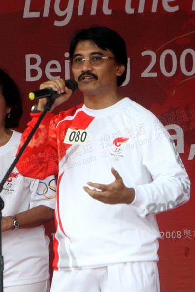 4印度尼西亚青年和体育部长穆尔延托致辞