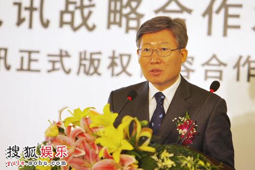 韩国驻华大使馆 文化院长兼公使参赞朴永大致辞