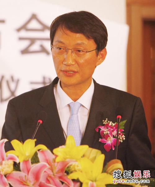 发布会— SKTC董事长李锡焕