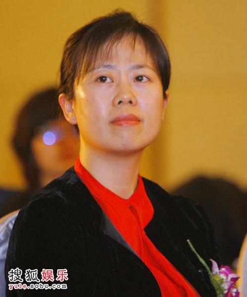 发布会— 搜狐公司联席总裁兼首席营销官王昕女士