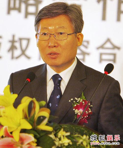 发布会— 韩国文化院长兼公使参赞朴永大