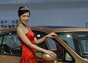 东风展台车模