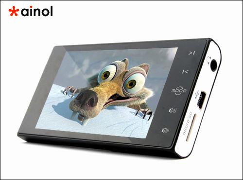 8G/599元 艾诺宽屏新品S100上市