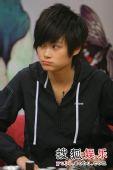 李宇春《少年中国》抢听会 可爱的小嘟嘴