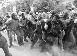 2007年北美峰会遭到数千民众抗议