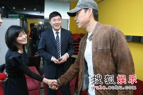 与搜狐娱乐事业部总监兼搜狐娱乐公司副总经理邓晔会面