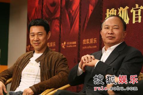 《赤壁》官网启动-张丰毅与导演吴宇森