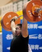 图文:全国锦标赛105以上公斤级 高乐获得季军