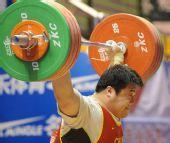 图文:全国锦标赛105以上公斤级 孙海波抓举