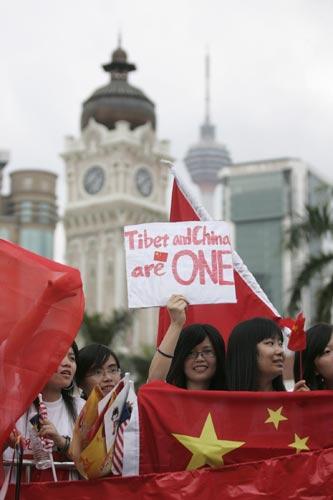 吉隆坡(4月21日):世界上只有一个中国
