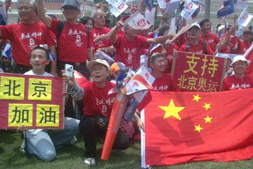 吉隆坡(4月21日):北京加油