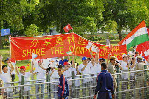 新德里(4月17日):分享奥林匹克精神