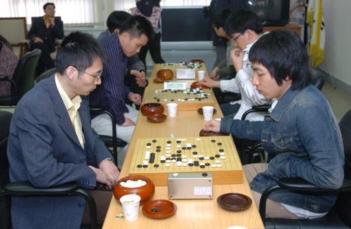 图文:LG杯预选赛激战韩国 王磊为出线努力奋斗