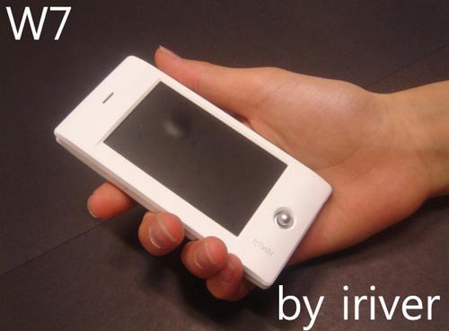 触摸宽屏好音质 iriver W7首篇中文评测