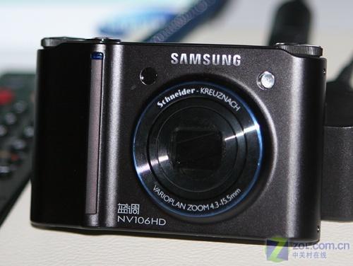 双重防抖、24mm广角 三星NV106HD低价上市