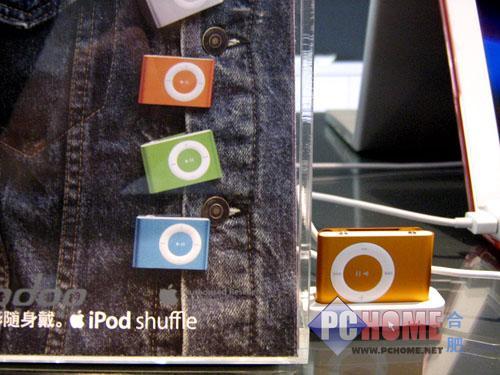 点击查看本文图片 苹果 iPod shuffle 2代 1G - 极致简约 苹果shuffle 2代仅售728元