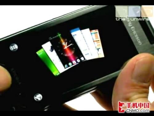 索尼爱立信Xperia X1神秘面板视频详解