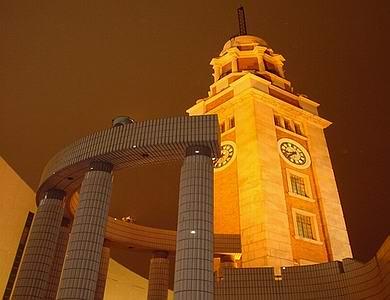 香港火炬传递路线解读- 尖沙咀钟楼