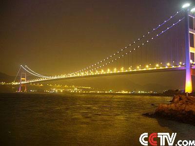 香港火炬传递路线解读- 青马大桥
