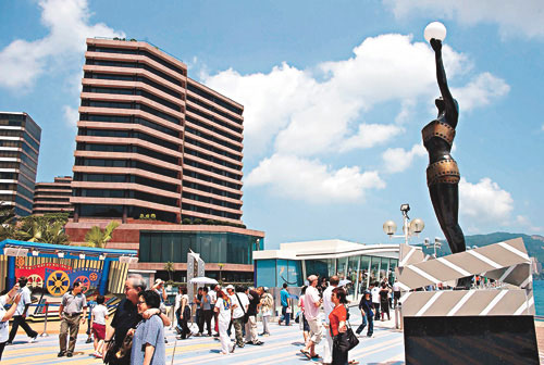 香港火炬传递路线解读- 星光大道