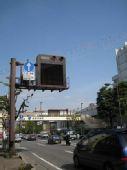 组图:奥运圣火抵达日本 长野街头风光