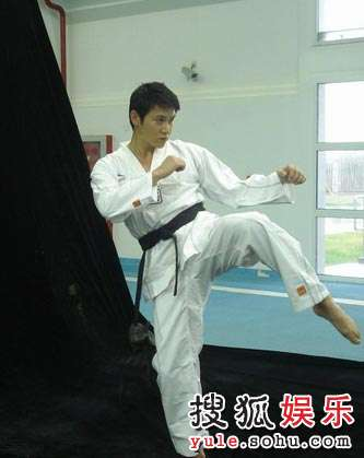 陆毅跆拳道