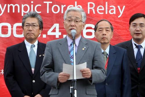长野市市长鹫泽正一致辞