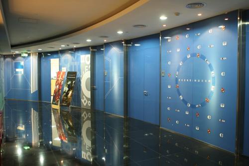 韩国文化院办公区走廊