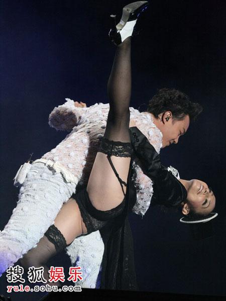 与dancer的惊艳演出