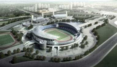 改扩建了体育场,体育馆,英东游泳馆,曲棍球训练场,园区市政,绿化景观