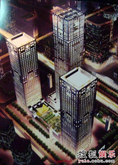 超豪华公寓夜景