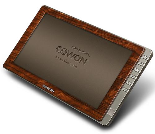 Cowon N3特别版问世 木制外壳再现古典