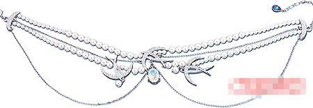Eternal项链以燕子为主角。