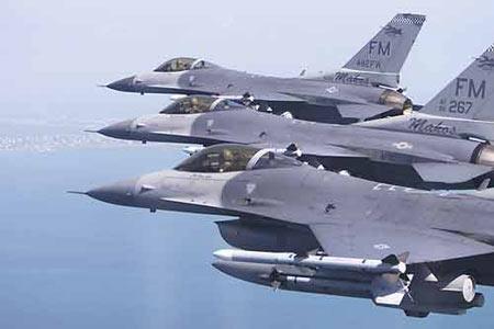 资料图:F-16C战机
