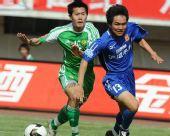 图文:[中超]陕西2-1北京 黄博文回追
