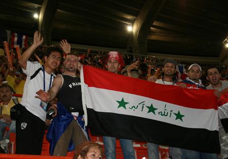 小强和伊拉克球迷