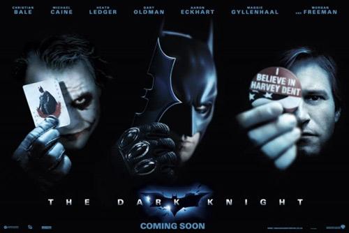 海报 无缘/《蝙蝠侠6》海报:小丑、蝙蝠侠与双面人...