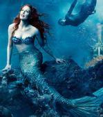 组图:迪士尼梦想肖像 朱丽安-摩尔化身美人鱼