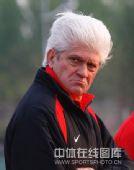 图文:[中超]辽足备战联赛 搞怪表情