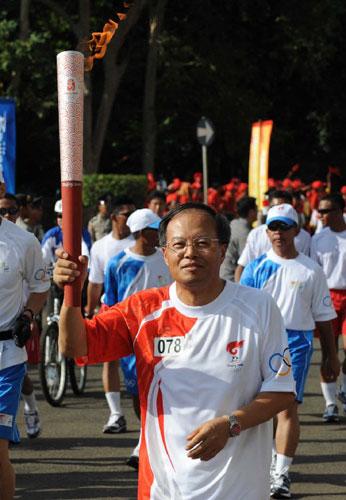 中国驻印尼大使兰立俊