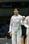 图文:亚锦赛中国女花团体折桂 剑客庆祝胜利